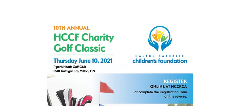 HCCF Charity Golf Classic - Registration Now Open - Halton Catholic  Children's Foundation
